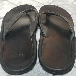 OluKai Shoes - B31 Olukai Ohana Flip Flop Sandals Size 43 Black